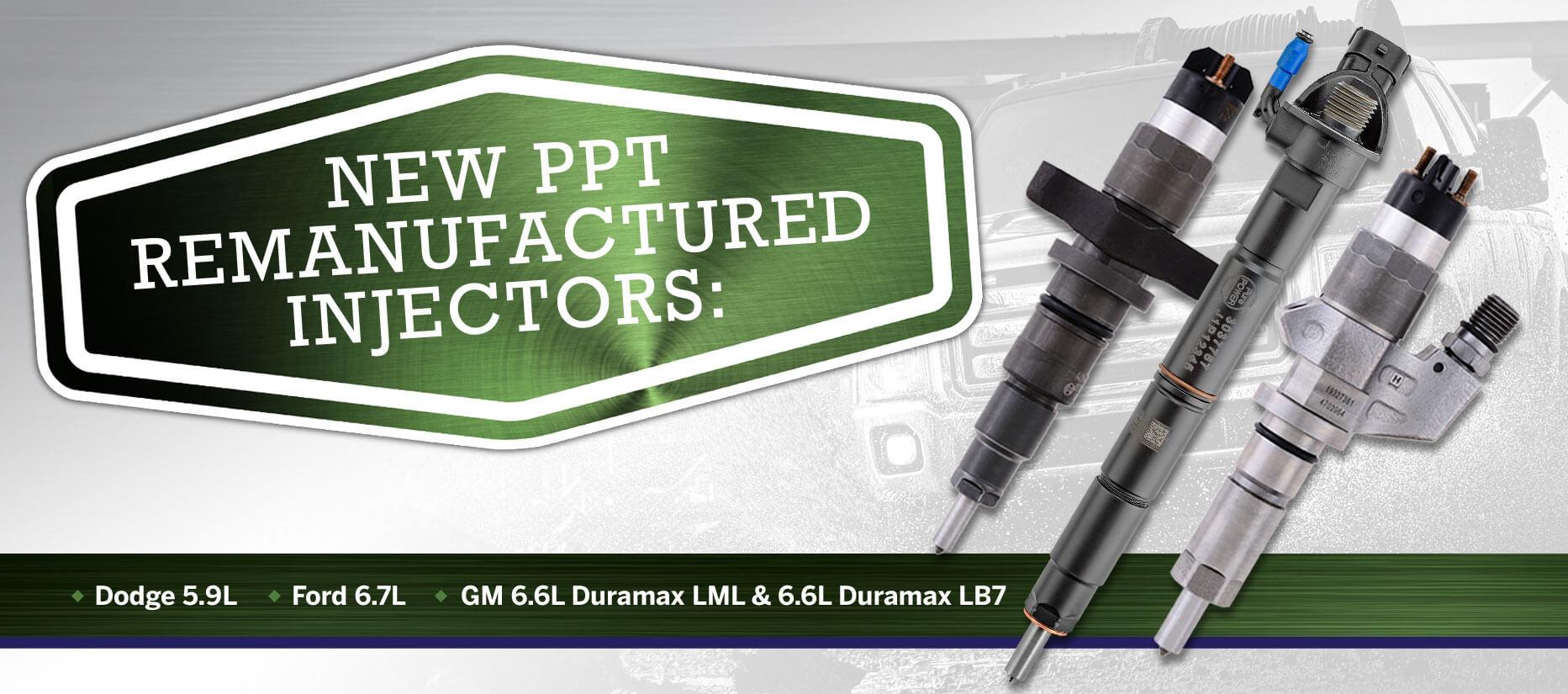 PurePOWER Technologies® Remanufactured Injectors