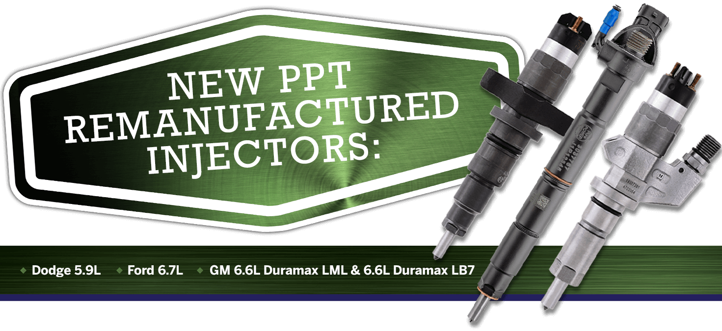 PurePOWER Technologies® New remanufactured fuel injectors